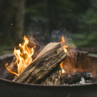 Camping, Firepit Safety and Cooking Over an Open Flame