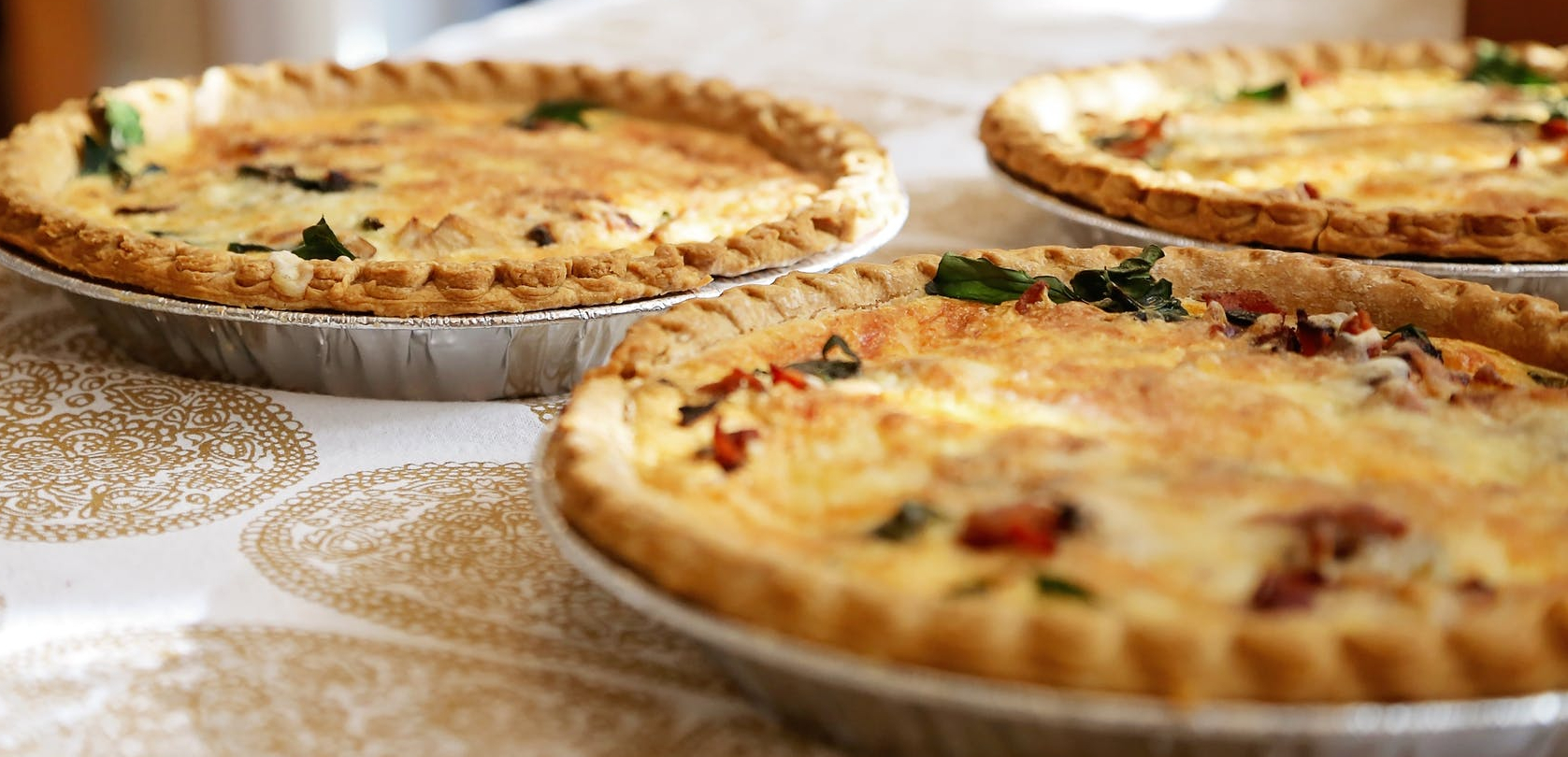 quiches ready to eat