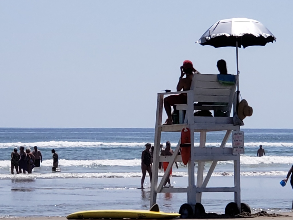 the life guard stand on Ogunquit beach