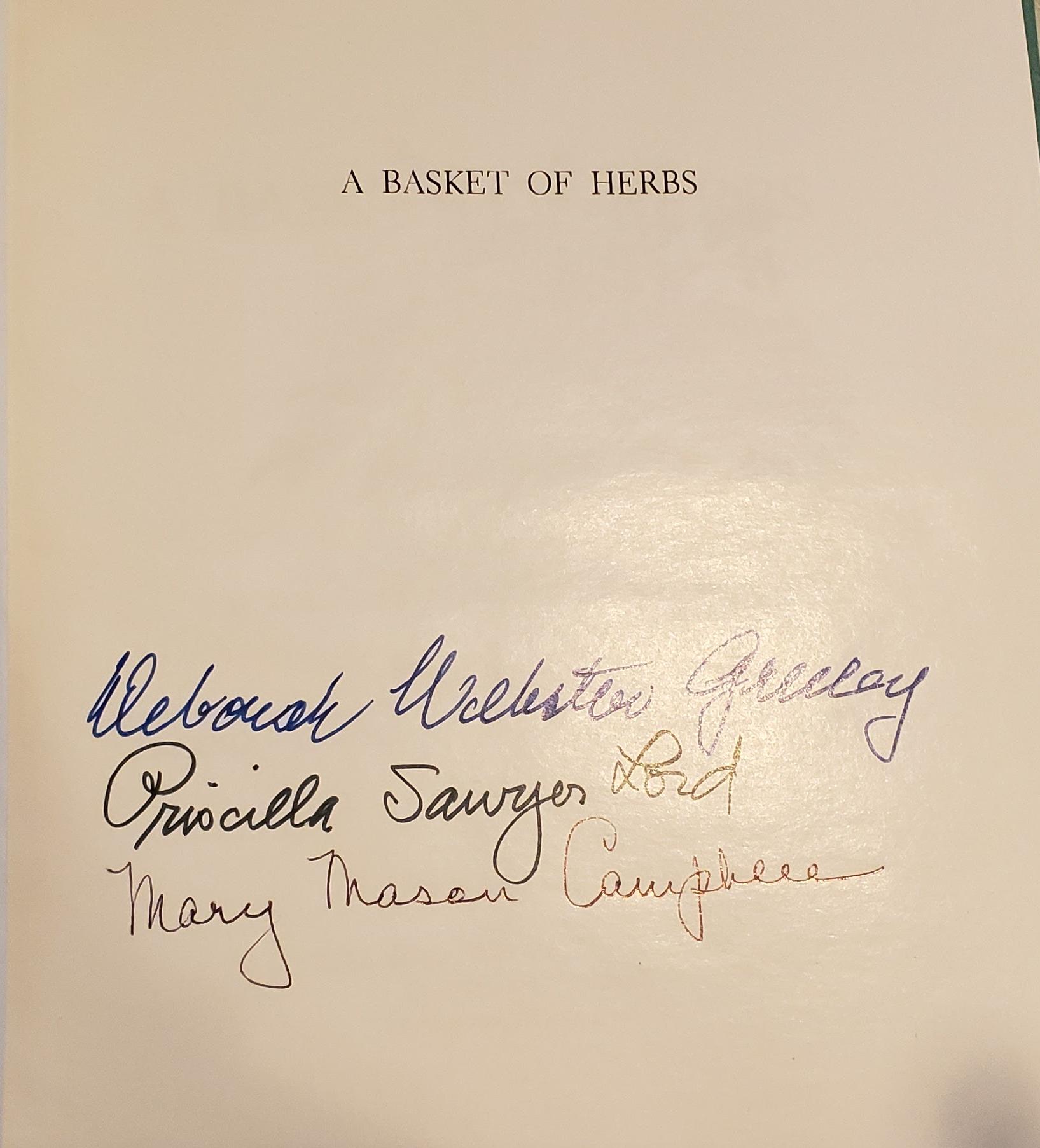Book editors' signatures