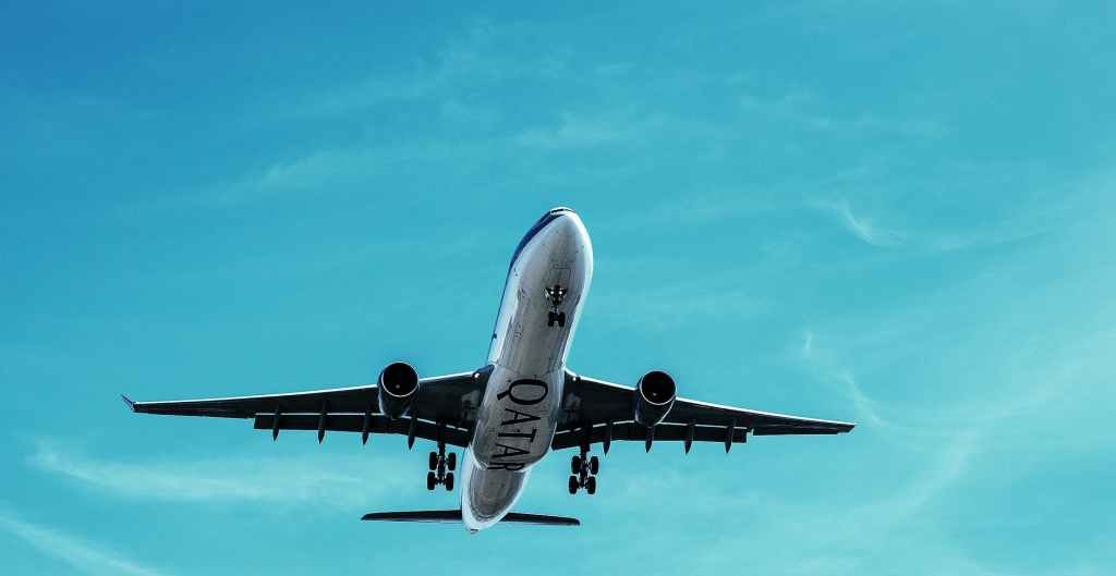 Qatar airliner
