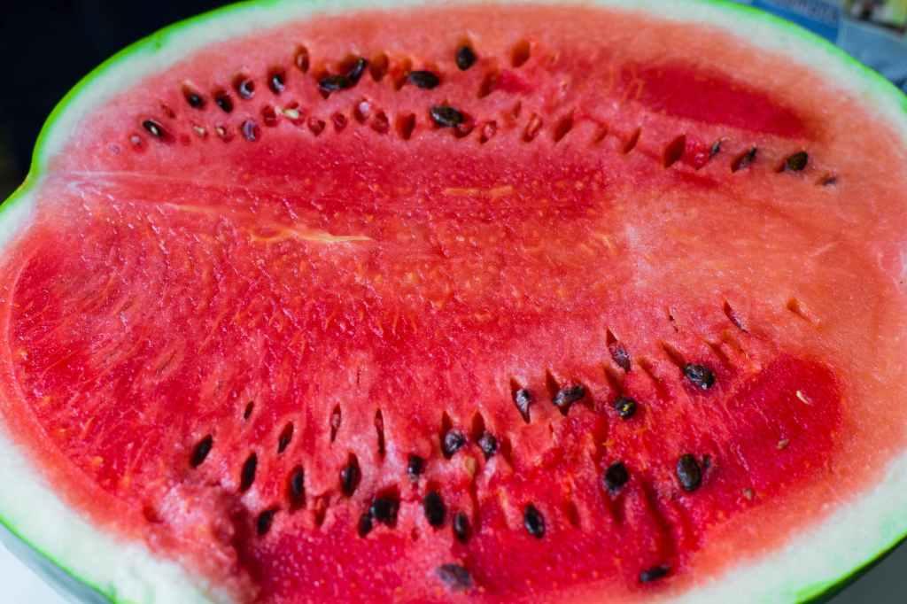 ripe red watermelon