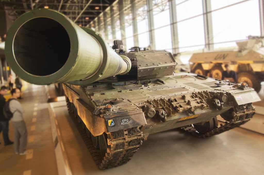 a large tank
