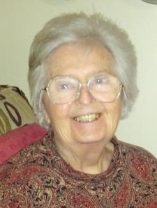 My mom, Lillian