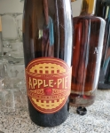 A bottle of apple pie wine