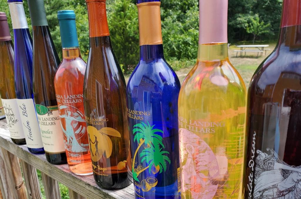 8 bottles of wine