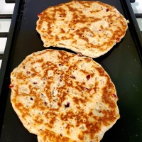 Cranberry Walnut Naan