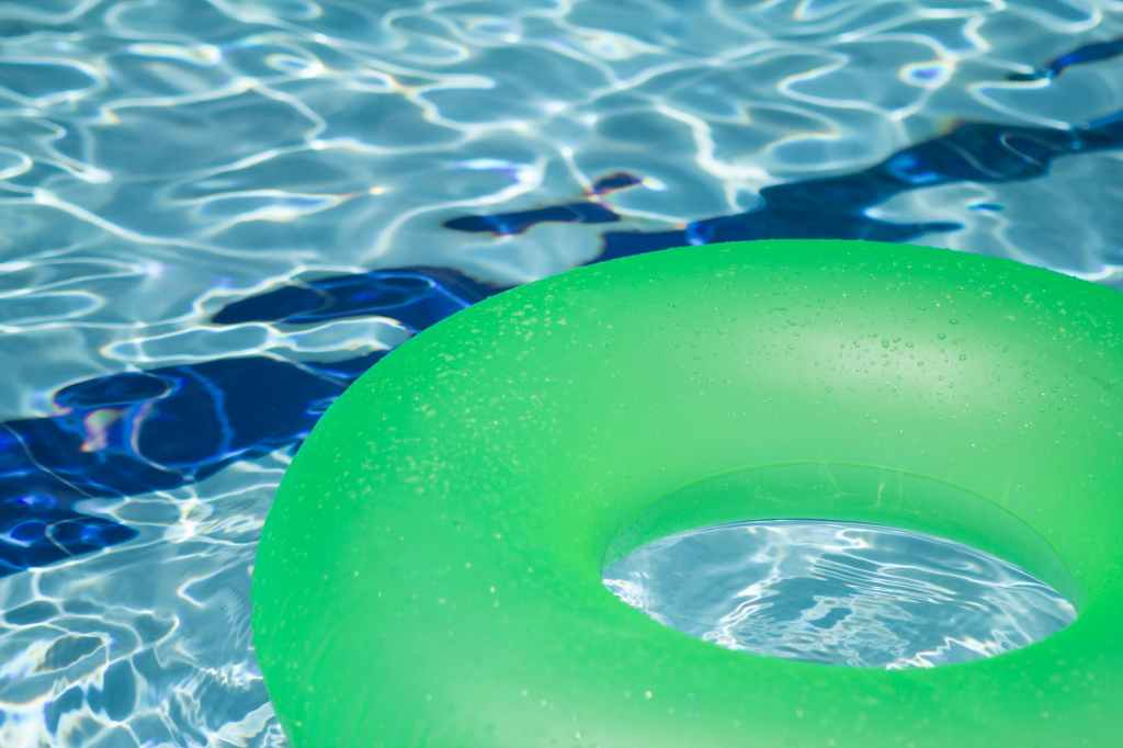 green pool toy