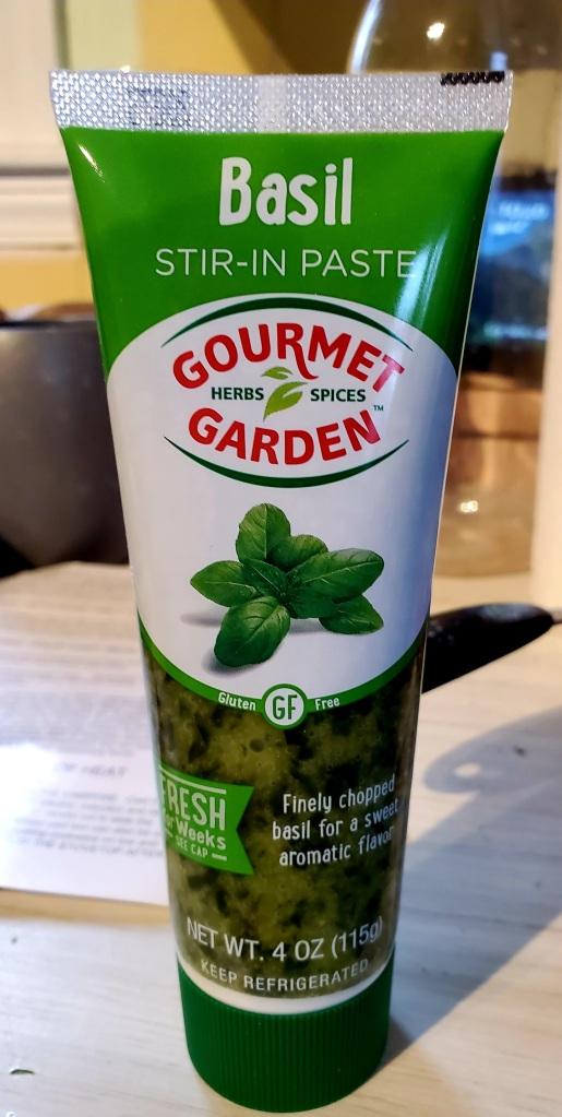 Tube of Gourmet Garden Basil Paste